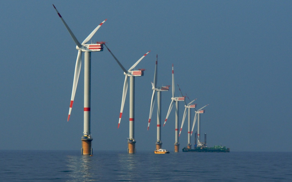 C-POWER wind park GBF